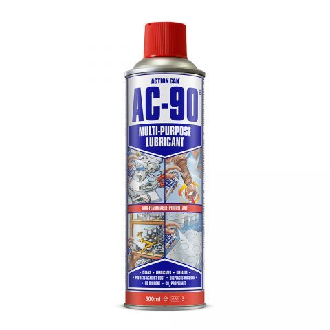 Action Can AC-90 Multi Purpose Lubricant 500ml Aerosol Spray