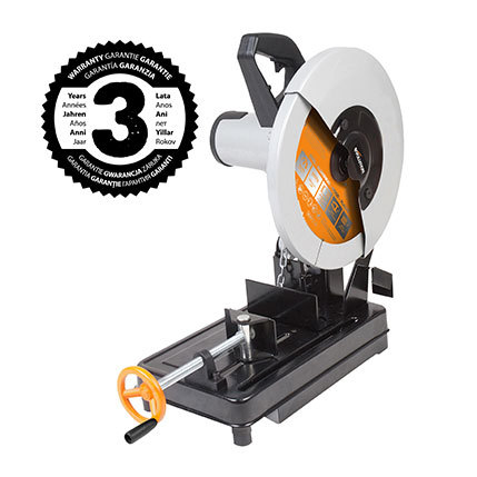 EVOLUTION RAGE2 355MM TCT MULTI-MATERIAL CUTTING CHOP SAW + EXTRA BLADE - BLACK FRIDAY SPECIAL OFFER