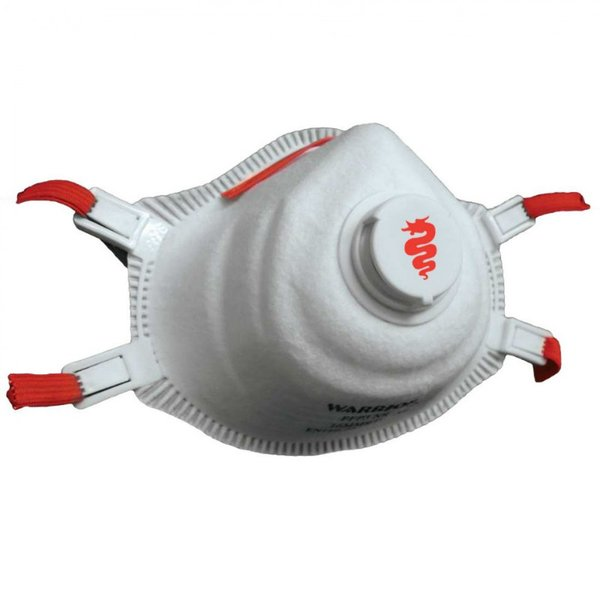 Lightweight Valved Disposable Face Mask FFP3 Certified Respirator Suitable for Coronavirus