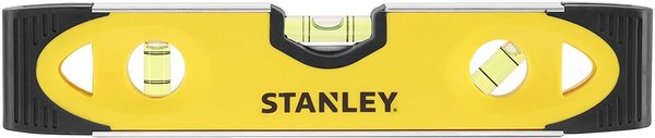 STANLEY 0 43 511 Magnetic Shockproof Torpedo Level 230mm