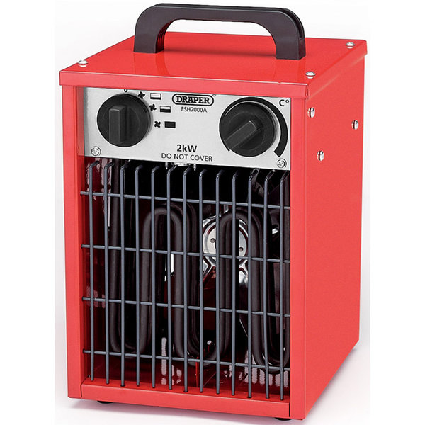 ELECTRIC SPACE HEATER (2 KW/230V)