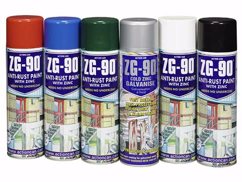 ACTION CAN ZG-90 Anti-Rust Paint With Zinc