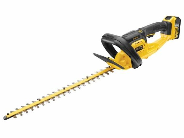 Dewalt DCM563P1 Cordless Hedge Trimmer 18V 1 x 5.0Ah