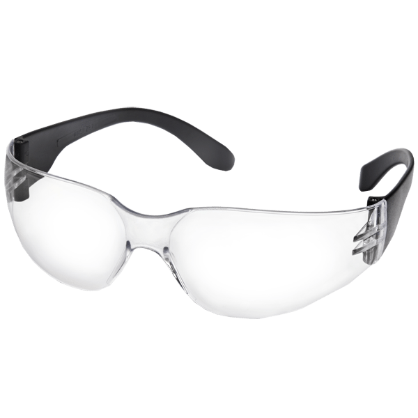 PARWELD CLEAR WRAP AROUND SAFETY SPECTACLE