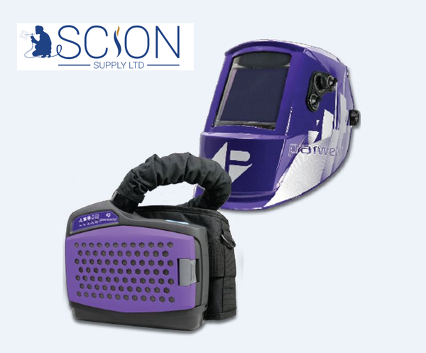 Parweld XR940A Air Fed Welding Helmet POWERED AIR PURIFYING RESPIRATOR